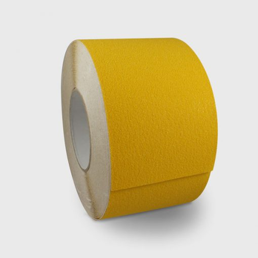 100mm wide yellow anti slip tape