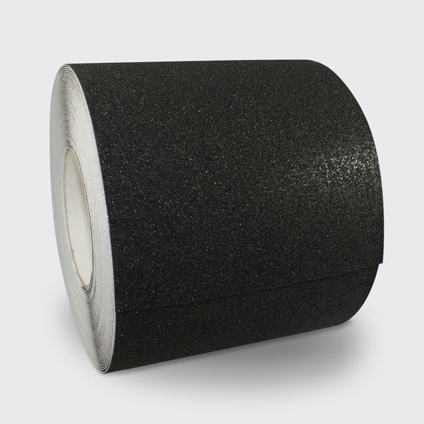 150mm black anti slip tape